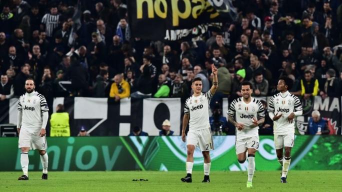Paulo Dybala celebrating his goal