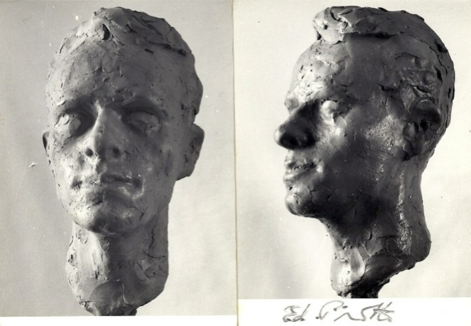 Though he failed to sign and date a lot of his work, Edward Pirotta would take many photographs of his sculptures.