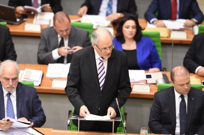 Finance minister Edward Scicluna