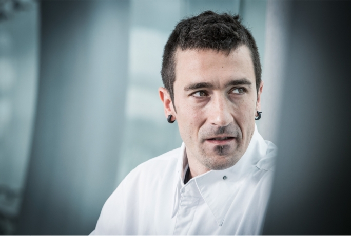 Three Michelin star chef Eneko Atxa