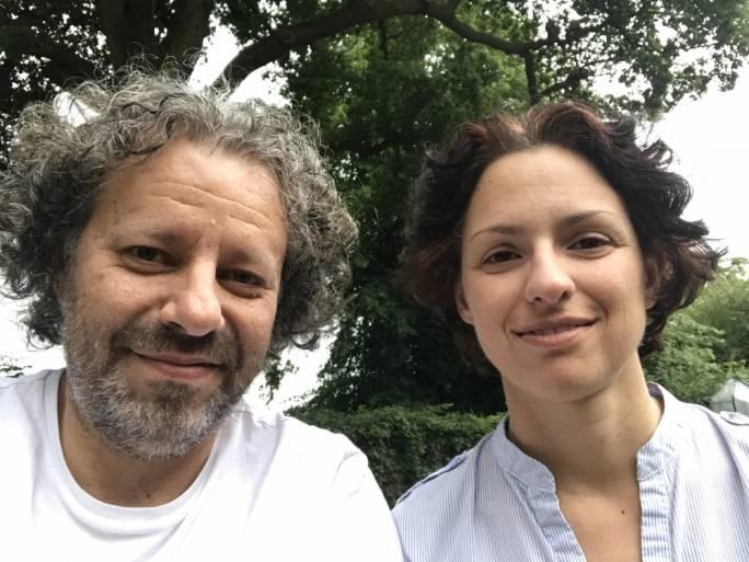 Renzo Spiteri and Gaby Giacchino