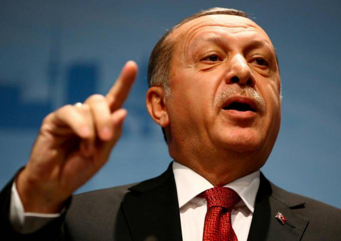 Turkish President Erdogan issued a decree dismissing the employees on Sunday