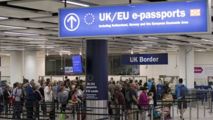 'Free movement will end in March 2019,' Theresa May's spokesperson said