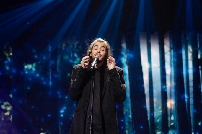 Salvador Sobral, representing Portugal, has won this year's Eurovision Song Contest