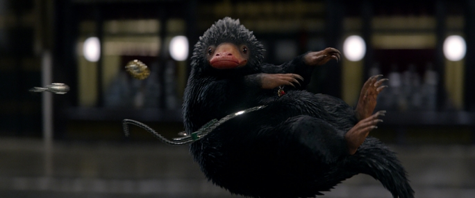 Gold-digger: The thieving Niffler