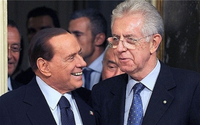 For the past year Berlusconi held to power with the votes of a motley crew of defectors from the opposition.