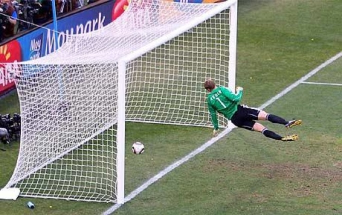 "Fifa has approved goal-line technology after incidents such as Frank Lampard's disallowed ""goal"" for England against Germany at the 2010 World Cup"