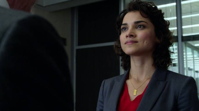 Home(land)-coming queen: Amber Rose Revah as the tireless agent Dinah Madani