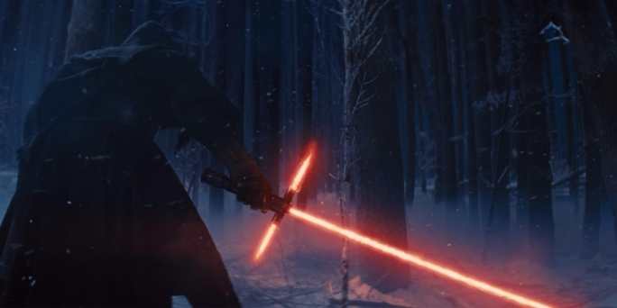 Despite his somewhat nonsensical lightsabre, Adam Driver's Kylo Ren is a worthy successor to the saga's enduring villain figure, Darth Vader