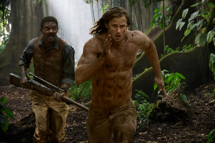Jungle Boogie: Samuel L. Jackson and Alexander Skarsgard join forces against the beasties of both the natural and civilized world in this off-key revisionist romp