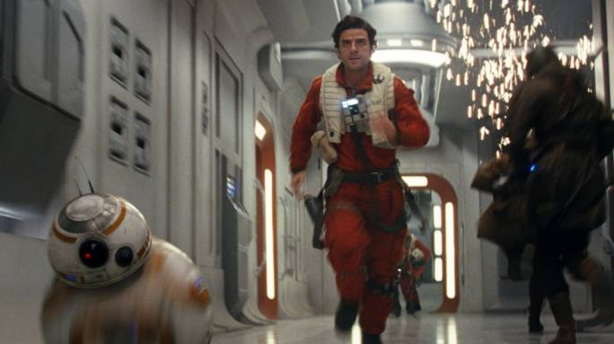 Flyboy: Oscar Isaac's Poe Dameron has a problem with authority