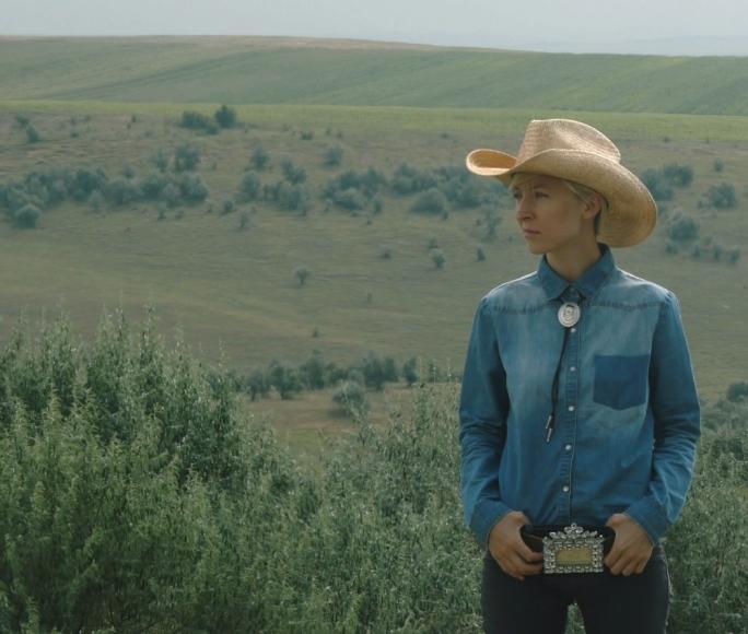 Writer-director-star of Hotel Dallas Livia Ungur