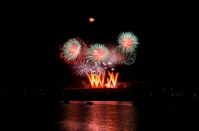 Fireworks festival at Marsaxlokk, Bugibba woos the crowds