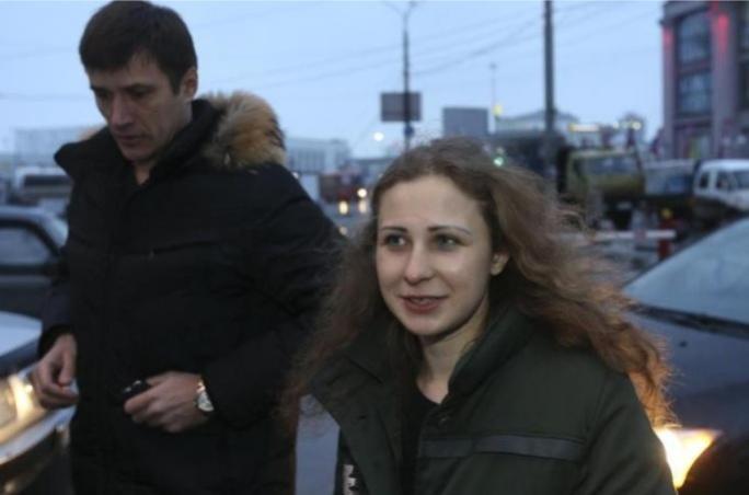 Maria Alyokhina and fellow Pussy Riot activist Nadezhda Tolokonnikova were pardoned by Vladimir Putin