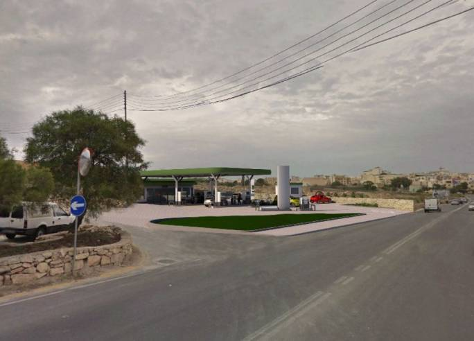 The 3000m2 fuel station was approved on agricultural land