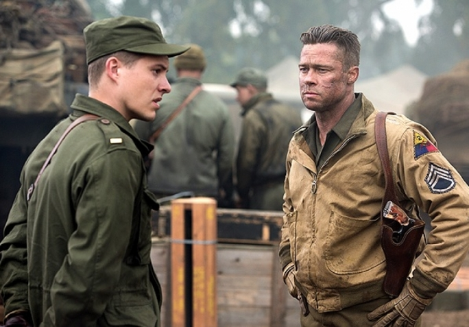 Fury Road: Brad Pitt is killing Nazis again
