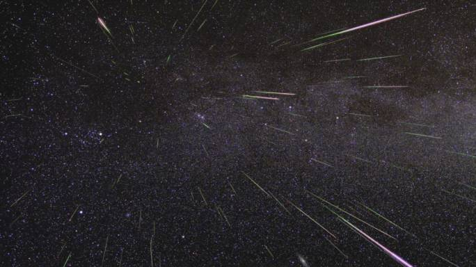 Meteors shower hits the earth in brightest show in history