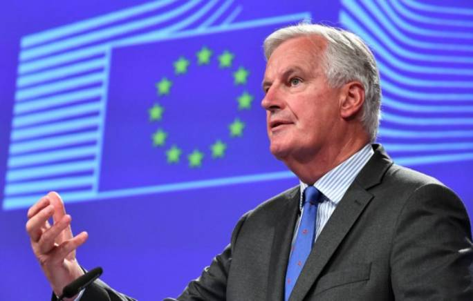 Not aware of free trade deal with access for financial services - Barnier
