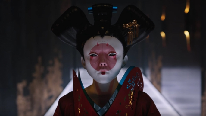 Geisha-bot: Ghost in the Shell presents a deliciously designed world