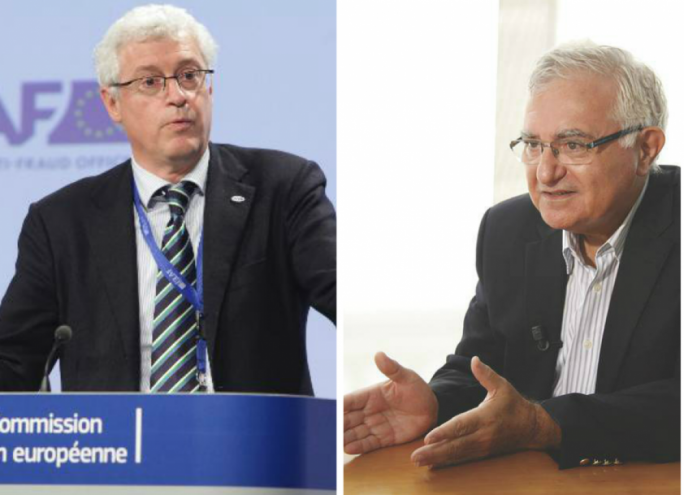 Giovanni Kessler (left) and John Dalli