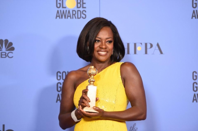 Viola Davis was named best supporting film actress for her role in Fences