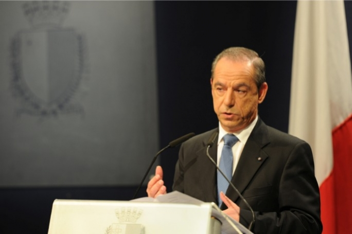 Prime Minister Lawrence Gonzi