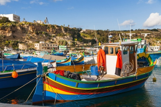 Gozo has been described as an island 'strewn with temples, salt pans and picturesque beaches'