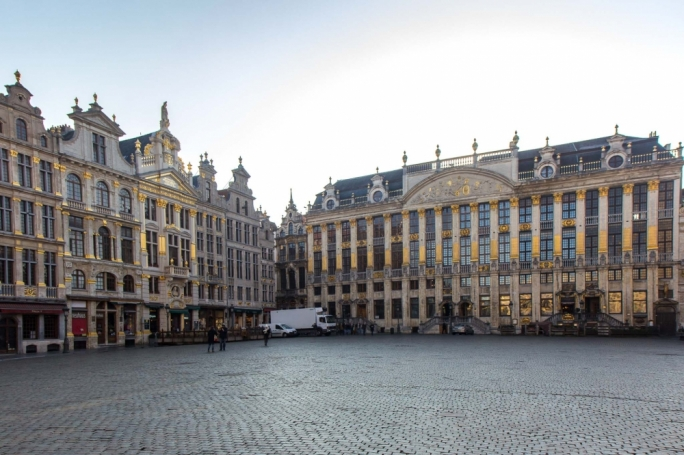The Grand Palace – The Grand Palace Square in Brussels contains architecture of three eras (Baroque, Gothic and Louis XIV) and was declared a UNESCO World Heritage Site in 1998