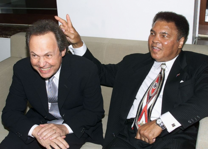 Billy Crystal and Muhammad Ali