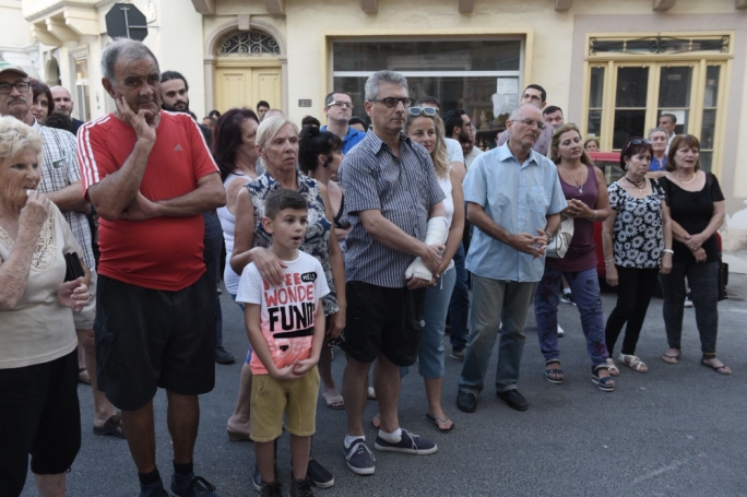 Few Gżira residents turned up despite the numerous complaints the council receives on a daily basis