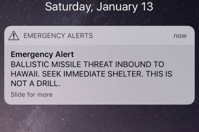 'Wrong button' pushed during 'shift change' blamed for false Hawaii missile alert