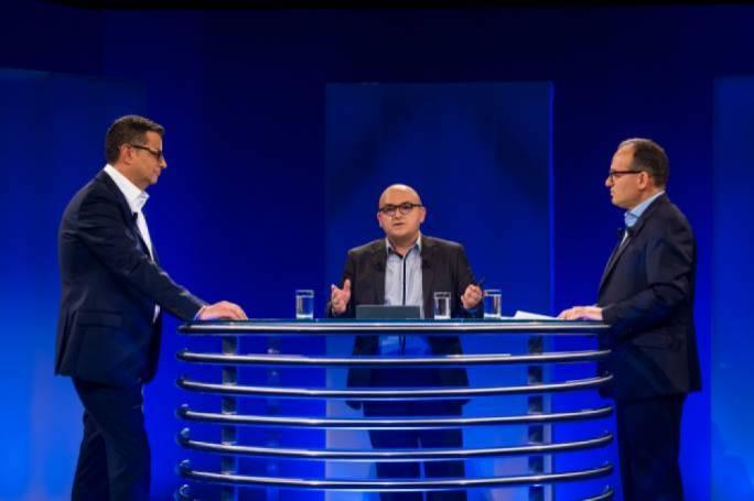 Debate between then PN-leadership, Adrian Delia and Chris Said