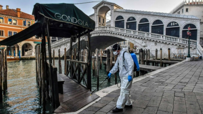Coronavirus: Italy deaths rise again after two days of declining toll