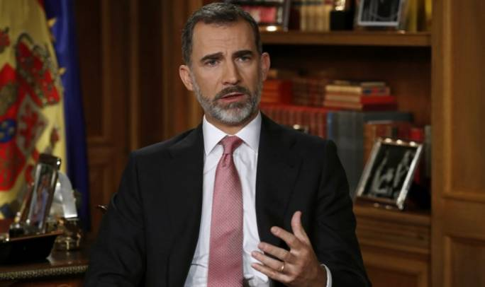 King of Spain condemns 'illegal' Catalan independence vote (Photo: Israel International News)