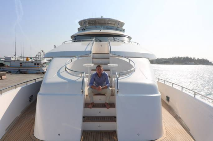 OceanLine Managing Director Daniel Ashforth