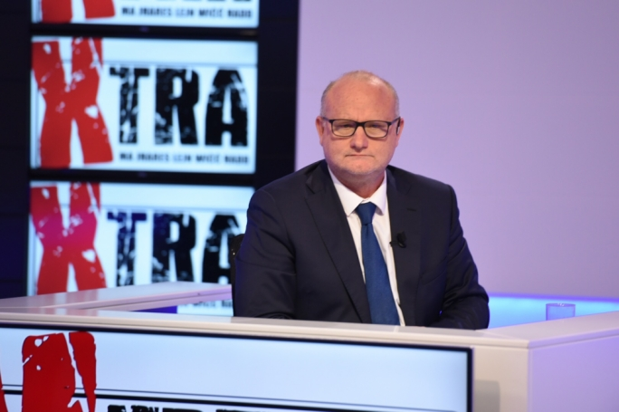 Saviour Balzan in a politics-free episode of Xtra