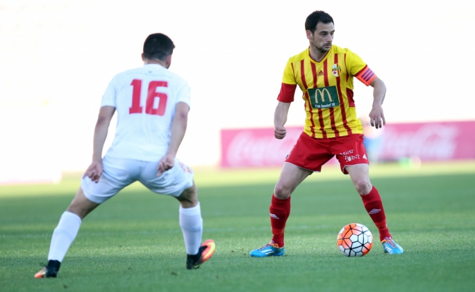 Gareth Sciberras of Birkirkara in action. Photo: Dominic Borg
