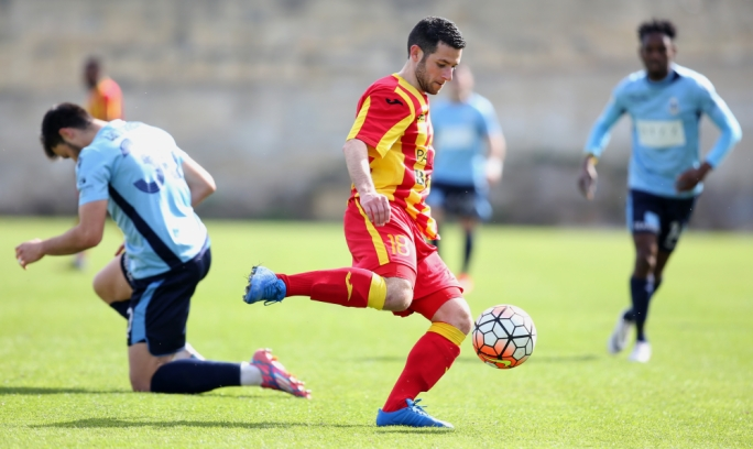 Beppe Muscat of Senglea in action. Photo: Christine Borg