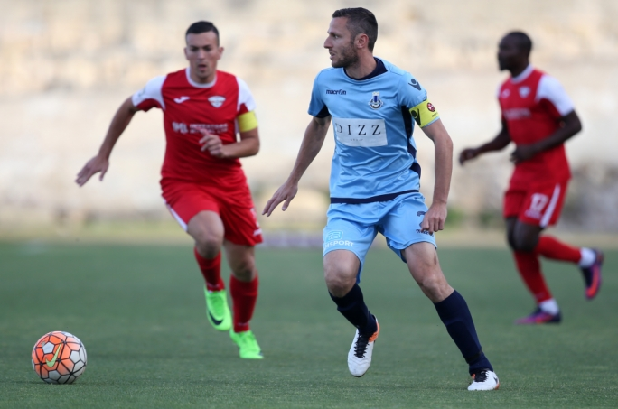 Alex Muscat of Sliema in action. Photo: Christine Borg