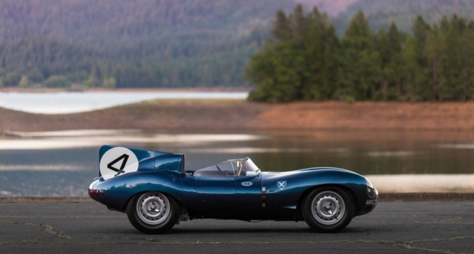 The 1956 Le Mans-winning Ecurie Ecosse Jaguar D-type