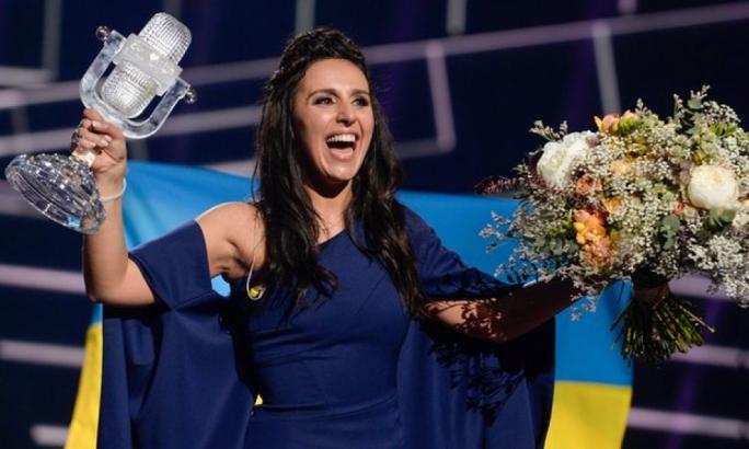 Ukraine won the right to stage the 62nd Eurovision contest after Ukrainian contestant Jamala won last year
