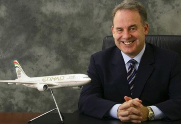 """Etihad's chairman and CEO James Hogan said he was """"disappointed"""" with the Italian government"""