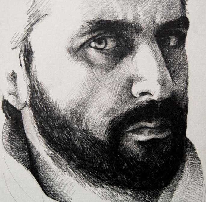 James Vella Clark - self-portrait