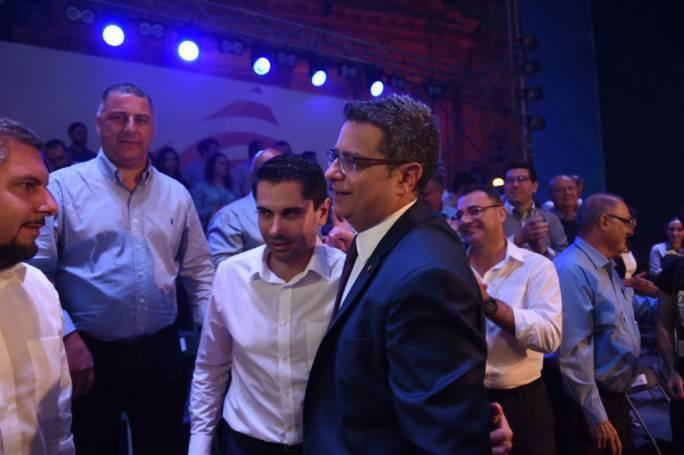Partners in politics: Jean Pierre Debono and Adrian Delia