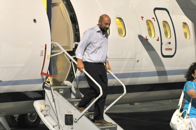 Maltese oil worker Martin Galea returned to Malta safe and sound (Photo: James Galea/MediaToday)