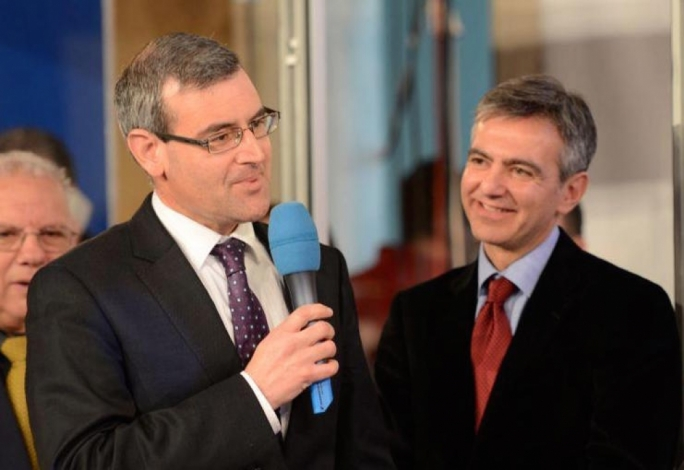 File photo: Joe Cassar and Simon Busuttil