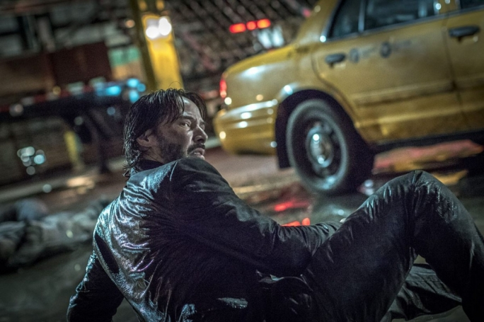 Man on the run: Keanu Reeves returns as John Wick