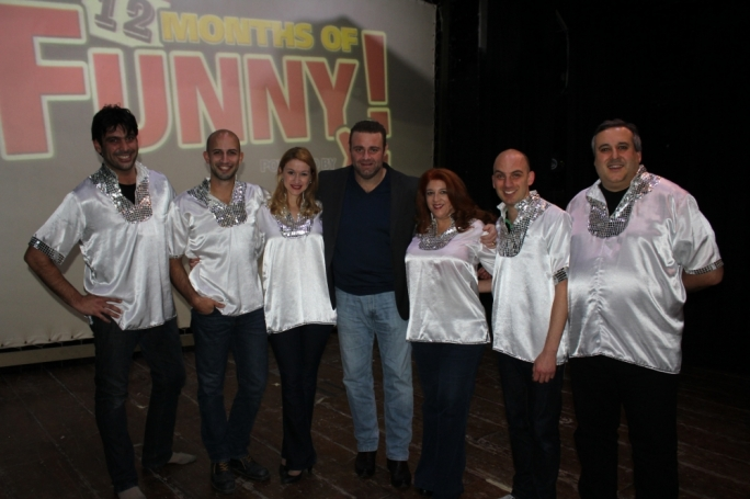 Tenor Joseph Calleja with the Comedy Knights