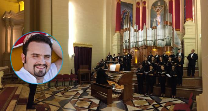 Joseph Lia (inset). The fourth edition of the Malta International Organ Festival took place from November 21 to December 7, across various venues in both Malta and Gozo