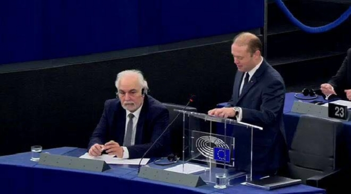 Addressing MEPs in Strasbourg, Muscat warned that the 2015 refugee crisis had caught Europe off guard